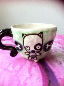 en skøn kop